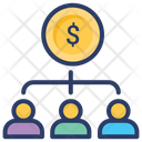 Shareholders Stakeholders Dividends Icon