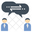 Sharing Discuss Exchange Icon