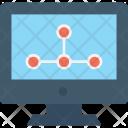 Sharing Monitor Led Icon