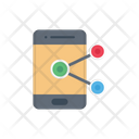 Sharing Network Mobile Icon