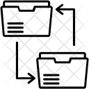 Sharing Data Exchange Icon