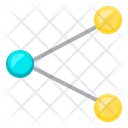 Sharing Net Network Icon