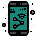 Sharing App Device Mobile Icon