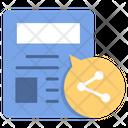 Sharing Blog Icon