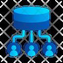 Sharing Data Storage Transfer Icon