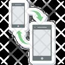 Sharing Network Data Icon