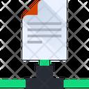 Sharing Document Sharing File Data Sharing Icon