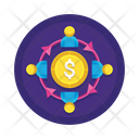 Msharing Of Economy Icon