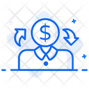 Sharing Economy Profit Sharing Income Sharing Icon