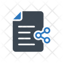 Share File Document Icon