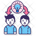 Sharing Ideas Icon