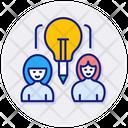 Sharing Ideas Creative Ideas Icon