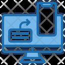 Sharing Digital Learning Icon