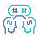 Sharing Opinions Icon