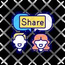 Sharing post Icon
