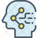 Sharing Human Mind Icon