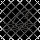 Shark Whale Fin Icon