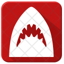 World Horror Shark Icon
