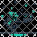 Shark Aggressive Danger Icon