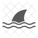 Shark Animal Ocean Icon