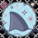 Shark Tail Aquatic Animal Marine Animal Icon