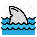 Shark Attack Tail Icon