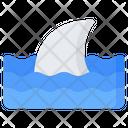 Shark Fins Fin Icon