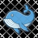 Shark Whale Ocean Icon