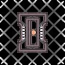 Sharpener Pencil Sharpner Stationery Icon