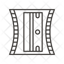 Sharpner Blade Hole Icon