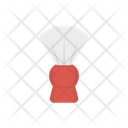 Shave Barber Brush Icon