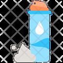 Container Cream Foam Icon