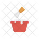 Shaving Cream Bowl Icon