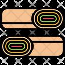 Shawarma Roll Burrito Icon