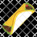Shawarma Pita Sandwich Icon