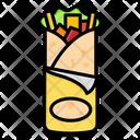 Shawarma Cooking Food Icon