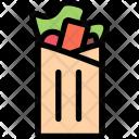 Shawarma Kitchen Cooking Icon