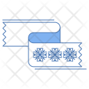 Shawl Snowflake Cold Icon