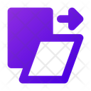 Shear Distort Transform Icon