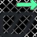 Shear Illustration Vector Icon