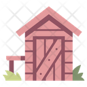 Shed House Garden Icon