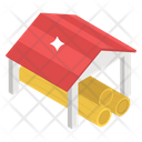 Shed Shelter Cover Icon
