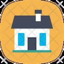 Cottage Shack Villa Icon