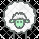 Sheep Wool Farm Icon