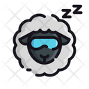 Sheep Sleeping Sheep Sleeping Icon