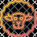 Sheep Animal Livestock Icon