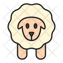 Sheep Animal Wool Icon