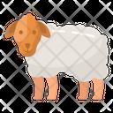 Sheep Domestic Animal Farm Animal Icon