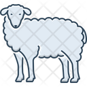 Sheep Ewe Cattle Icon