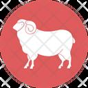 Sheep Animals Farm Icon